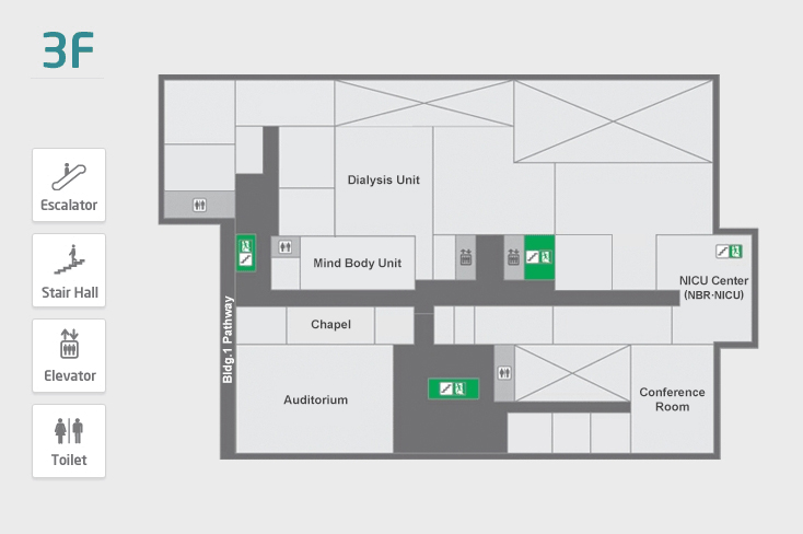 Main 3 Floor Map